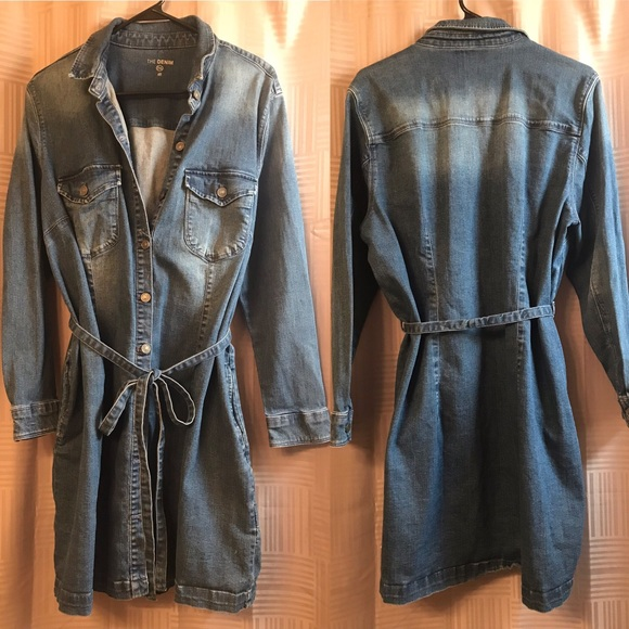 C&A Jackets & Blazers - Plus Size Denim Duster Jacket